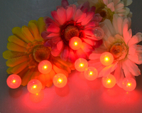 Multi Color Waterproof Mini Led Light Ball For Party Decoration