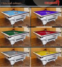 Hot selling american style TB-US010 tiffany green billiard table