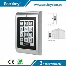 Waterproof, Anti-vandal, Backlit Dual-relay Keypad Access Control