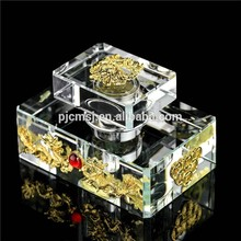 2015 classical luxury Crystal /glass dragon Perfume Bottle for Decoration or Gifts