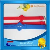 adjustable silicon wristband/ rfid wristband/ smart wristband