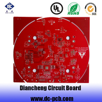 round circuit board plain circuit board for all electronics