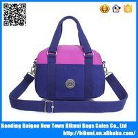 Shoulder bag nylon exotic handbag can be washing
