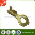 Custom terminales de anillo de cobre estampado eléctrica