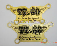 brass flying name plate