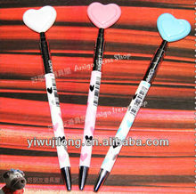 Office & School Classicial ballpoint pen with heart style