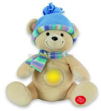 Light Up Teddy Bear Plush Toy, Teddy Bear Soft Toys,Plush Stuffed Light Night Bear Toy