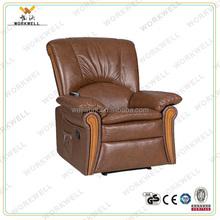 WorkWell classical vibrator electric lift motor PU leather recliner sofa Kw-Fu48