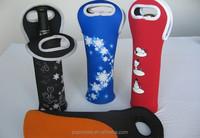 2015 Neoprene Single insulated bottle cooler, Bottle Wine Tote