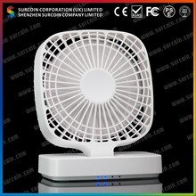 Rechargeable Fan with Multi-Stage Wind Speed Hand-Held Portable Fan Dischargeable