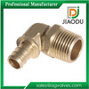 """1/2"""" or 1"""" or 11/2"""" or 11/4"""" or 2 """" 90 degree Brass Male Elbow Fitting For Pex Pipe Copper Crimp Ebow"""