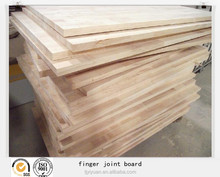 Rubber wood finger joint board