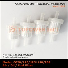 China supplier universal air filter motorcycle