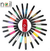 Wholesale Two way Nail Art Pen for Nail Painting Art Nail Polish Pen
