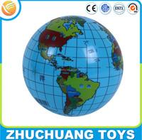 inflatable world globe map printing beach ball