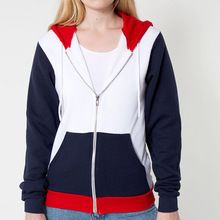 Special Value explosion model Women's fashion zip-up hoody