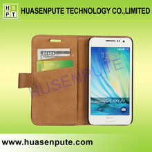 Alibaba China Luxury Retro Wallet Leather Case for Samsung Galaxy A3 Leather Case