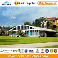 20m Clear span tents with air conditioner opening