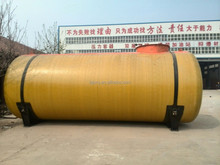 Fiber Reinforced Plastics and carbon steel double wall underground fuel tank made for gas station
