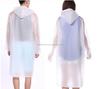 PVC Transparent Plastic Rainwear