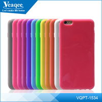 Veaqee custom logo printed tpu soft case cover for iphone6 plus