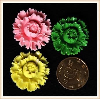 f0464s Николь силиконовые цветок пион Фондант плесень