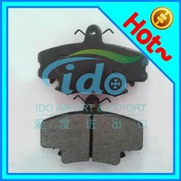 Hot sale high quality asbestos free brake pad for Peugeot 206