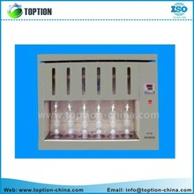 BSXT-06 Soxhlet extraction instrument,Fat extractor and Fat extracting out device