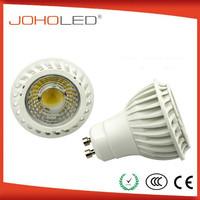 Super bright spotlight Ra over than 80 gu10 5w/6W 60degree led decorations lamp corn