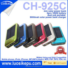 Best quality newest mini powerbank charger cheap solar energy power bank7800mah