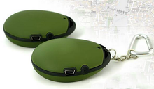 Key chain gps tracker locator