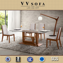 Hot Sales 13 years Quality Promise Modern Woodern Dining table and chair On Sale