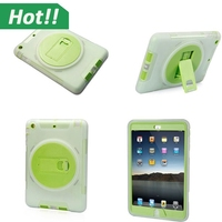 Hot Sale Armor Phone Case for ipad mini 2 mini 3 Anti Shock TPU Silicone Mix Hybrid Protective Shell Cover