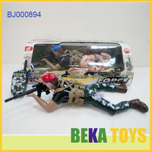 Cool Boys Boys Large Plush Infrared Control Toy Corps Painted Plastic Soldier
