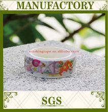 15mm-30mm free sample japanese cartoon custom make washi tape