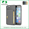 Mobile Phone Accessories TPU + PU leather protective phone case for Apple series for iphone 6 / 6s with card slot