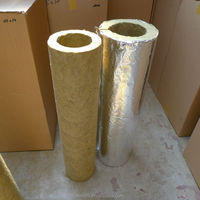 Fireproof Rookwool Pipe Section Insulation Material