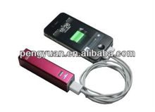 wholesale portable power bank charger &mobile power bank /pack for iphone5/ipad and samsung