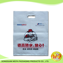 Cheapest Plastic Biodegradable Die Cut Vest Carrier Bags With Full Printing