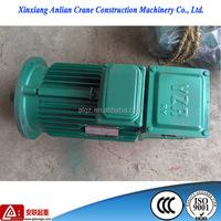 CCC Three phrase AC electric induction squirrel cage motor/crane ac motor