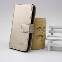 For Alcatel Idol Mini OT6012 Flip Leather Case with Card Slot Inside