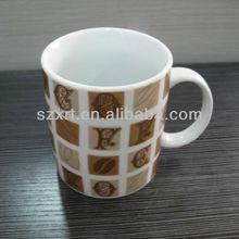 white ceramic household mugs sublimation porcelain