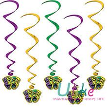 carnival dangler decorations carnival decoration venice mask
