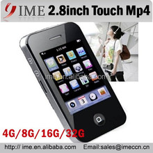 2.8inch Mp4 Mp5 Player Touch Screen Factory Supply FM/Ebook/Games 8G