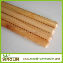SINOLIN hot sale Manufacture varnished wooden broom stick,broom poles