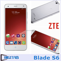 Original ZTE Blade S6 Android 5.0 Phone Qualcomm Octa-Core 1.5GHz Dual SIM 4G LTE SmartPhone 5 inch HD IPS Mobile Phone