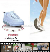 Natural reflections latest shoes in market with shoelaces upper material PU+Mesh