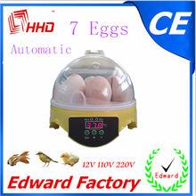 2014 más barato& más reciente el certificado del ce automática pequeña granja de codornices equipo( 7 huevos) ew9-7