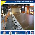 Alta velocidad de 70 a 80 TD, papel 3200mm fourdrinier residuos, cartón de pasta de madera reciclado de papel kraft, maquinaria