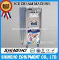 comercial automático suave helado fabricante de la máquina